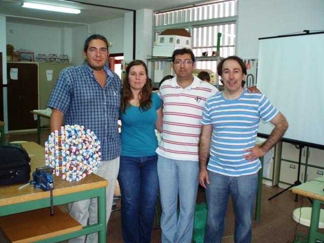 Juan, Teresa, Javier y José Luis