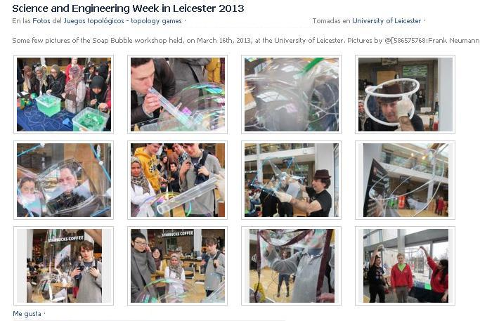 Science and Engineering Week at the University of Leicester