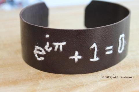 Bracelet. Euler's identity.