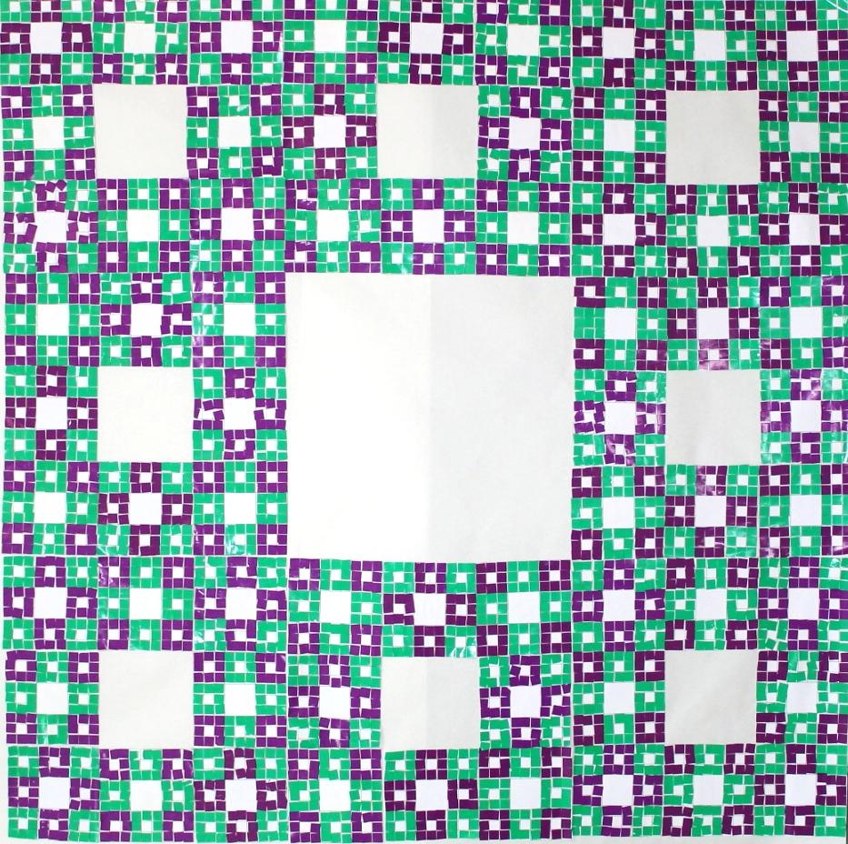 Sierpinski carpet project juegos topol gicos for Modelos de alfombras