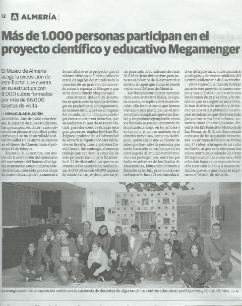 Recorte prensa MegaMenger-Ideal-de-Almería